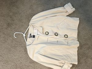 Beige color jacket with silk lining for Sale in Durham, NC