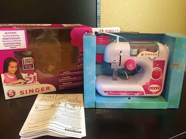 Singer EZStitch Chainstitch Sewing Machine Perfect For Beginners Custom Singer Ez Stitch Toy Sewing Machine