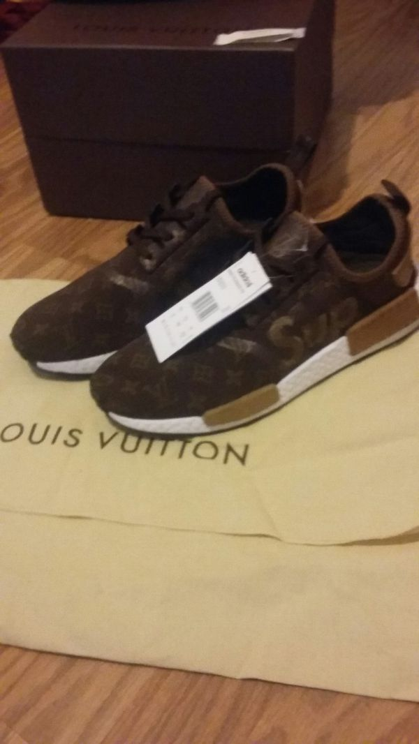 best website c07f9 9e00c Adidas NMD Boost Louis Vuitton × Supreme Custom for Sale in Port St. Lucie,  FL - OfferUp