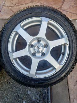 205/55R16 Dunlop Tires W/ Sport Edition Rims  Thumbnail