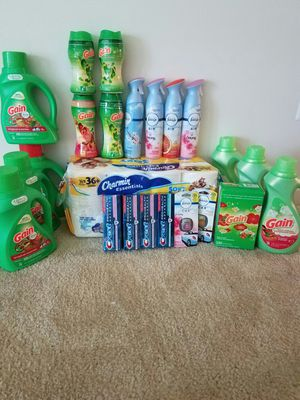 Mega Household laundry personal care bundle #1 - $75 not negotiable for Sale in Rockville, MD