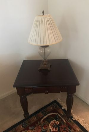 Two corner tables with center coffee table for Sale in Stafford, VA