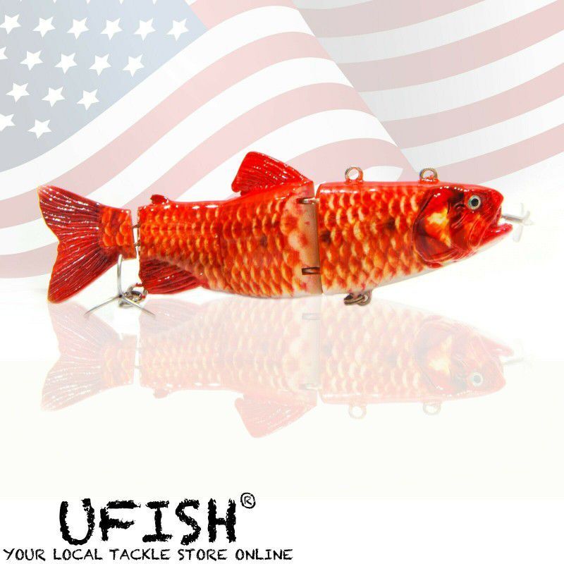 USB Red Bass Self Swimming Fishing Lure Gift For Fisherman Propeller With Charger