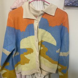 Vintage Knitted Cardigan  Thumbnail