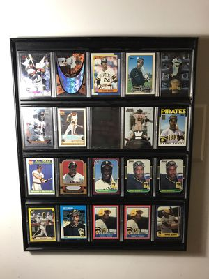 Lot of 19 Barry Bonds Cards Framed for Sale in Rockville, MD
