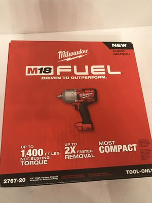 Milwaukee M18 FUEL Brushless 1/2 in Impact Wrench w/ Friction Ring for Sale in Altamonte Springs, FL