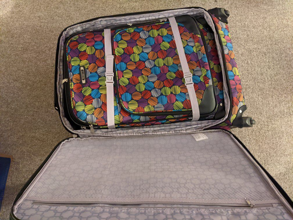 3 Piece 360° Rolling Luggage Set