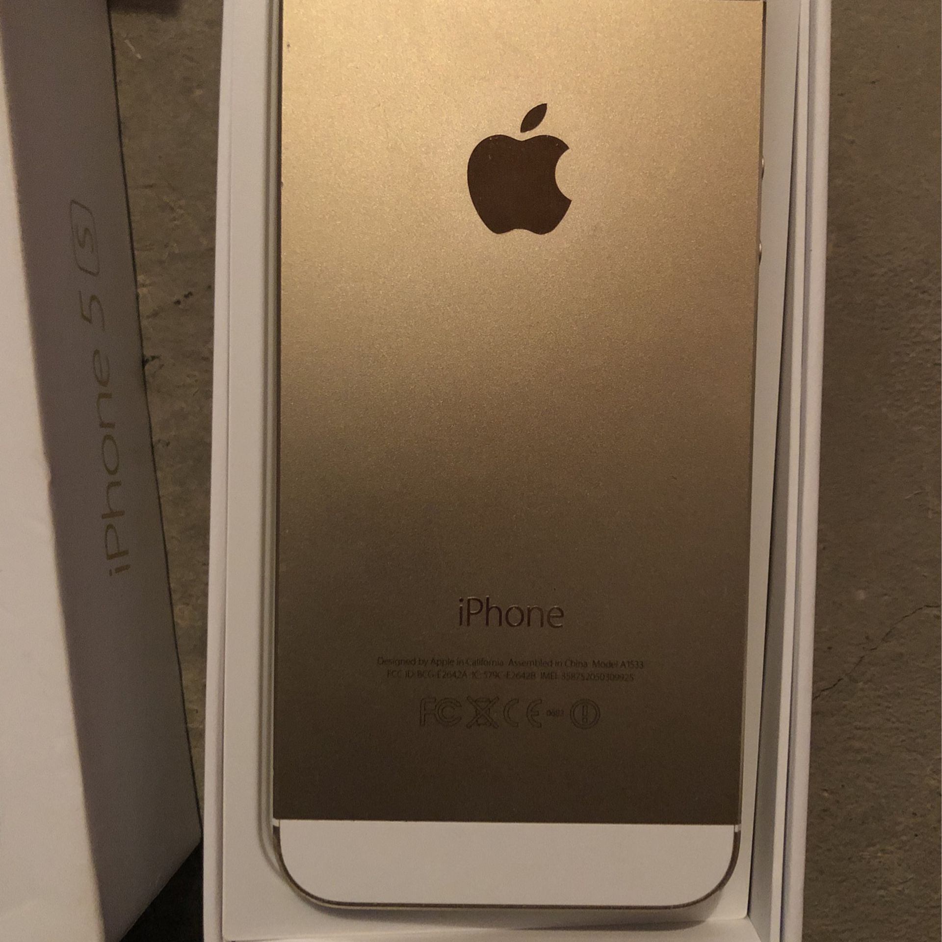 iPhone 5s 16gb (comes With Otter Box Case)
