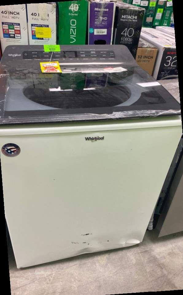 Whirlpool WTW5105HW washer 🔥🔥🤩 IOYT
