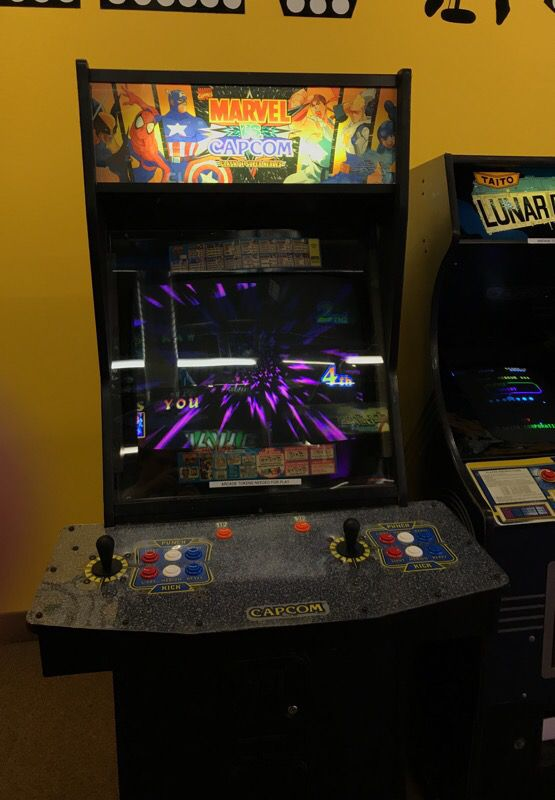 arcade marvel vs capcom