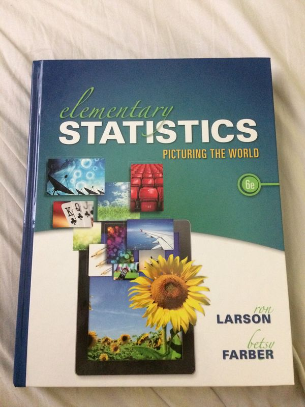 Elementary statistics 6e textbook for Sale in Dover, DE - OfferUp