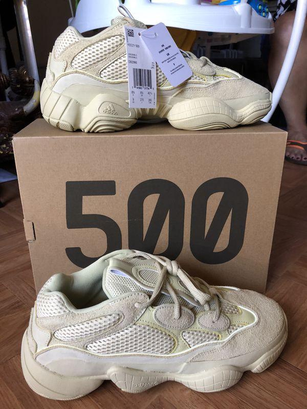 1b7a834e6 Brand New Adidas Yeezy 500 Super Moon Yellow US Men s Size 9 (Clothing    Shoes) in San Jose