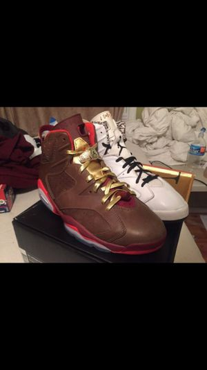 Cigar 6s sz 11 vnds and motorsport 6s sz 11.5 sole has been swapped for Sale in Baltimore, MD
