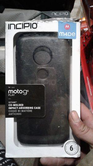 Incipio motoG6 cell phone case for Sale in Escondido, CA