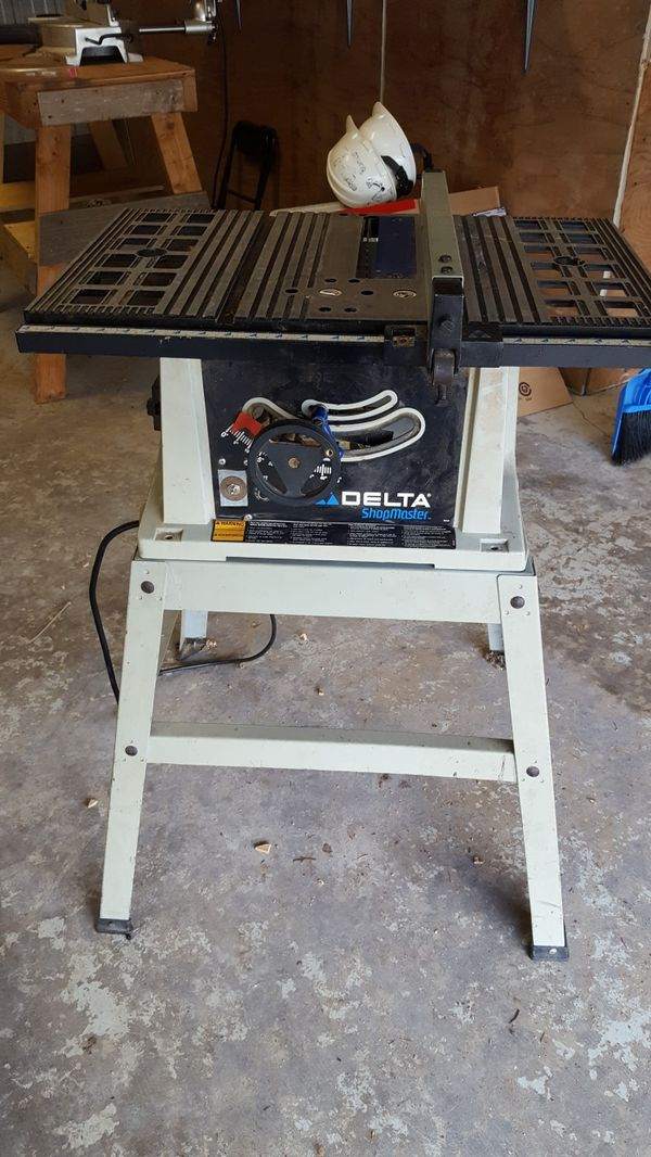 Delta ShopMaster Table Saw for Sale in Auburn, WA - OfferUp