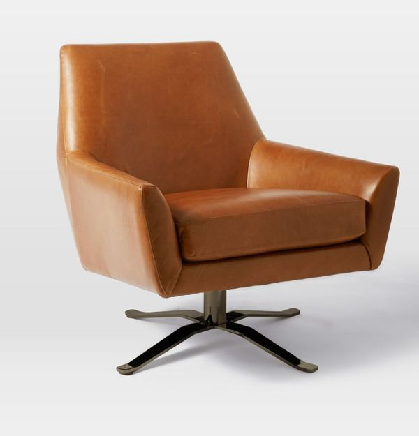 West Elm Leather Chair For Sale In El Paso Tx Offerup