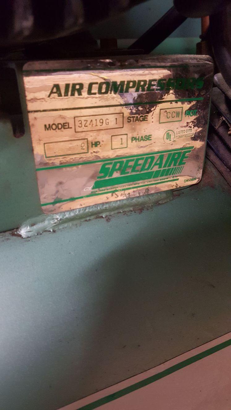 Speed air compressor