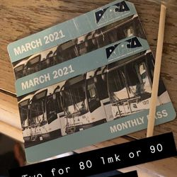 Monthly Bus pass Thumbnail
