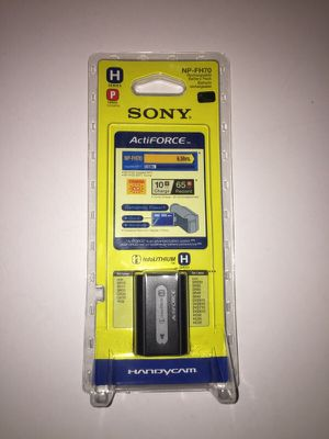 Sony Antiforce Rechargeable Battery pack NP-FH70 for Sale in Chesterfield, VA