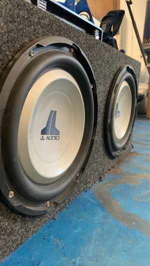 Photo 10 jl audio subs