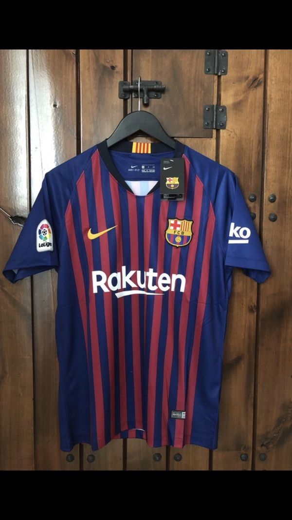 7342160de2d Barcelona home jersey 18-19 for Sale in Plano