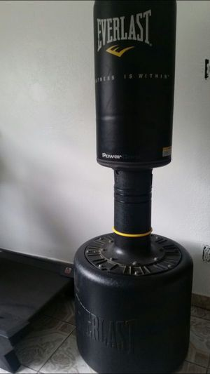 Everlast Punching Stand Stationary Core Free Standing Heavy Bag For In Monterey Park