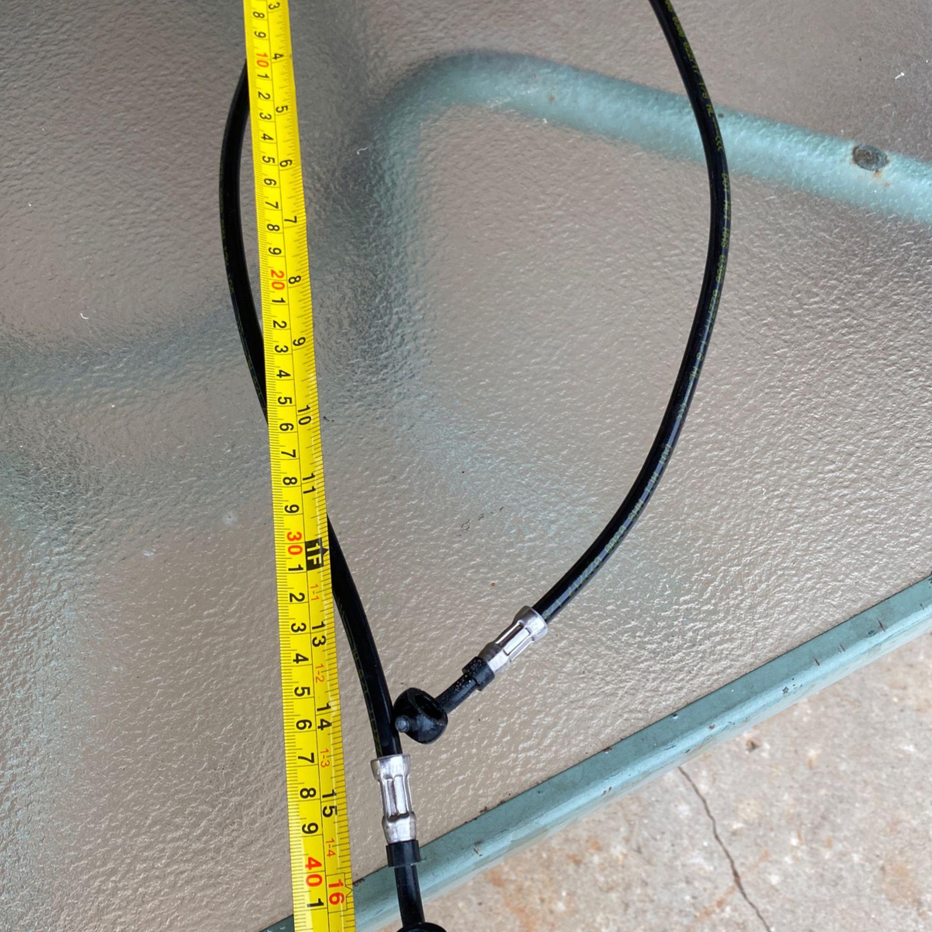 Harley Davidson dual caliper brake hoses