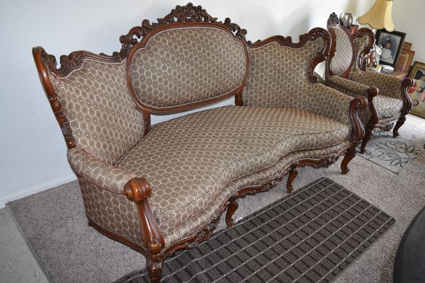 Antique Italian Style Sofa Set (set of 3) for Sale in Riverside, CA ...