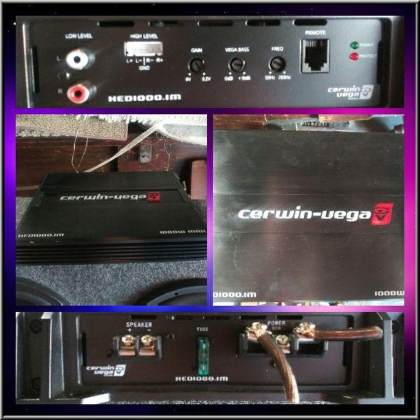 Cerwin Vega amp for Sale in West Covina, CA - OfferUp