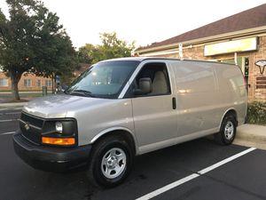2009 Chevrolet Express 2500 Cargo Van *V6* Ladder Rack Work Shelves 112,000 Miles Original for Sale in Oakton, VA