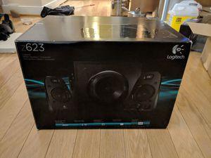 Logitech Z623 2.1 THX Speakers w Bluetooth adapter for Sale in Arlington, VA