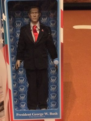President George W Bush Talking Figure by Toy Figures for Sale in New Braunfels, TX