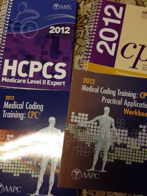 Medical coding Books- 2012 for Sale in North Bethesda, MD