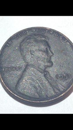 Rare Charcoal Black (Ruthenium coated?) Wheat penny Thumbnail