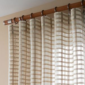 Brand New Crate and Barrel Ross Sheer Curtain Panel x 4 for Sale in Rockville, MD