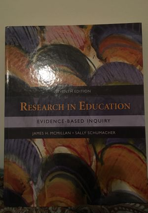 Research in education evidence-based inquiry for Sale in Fairfax, VA