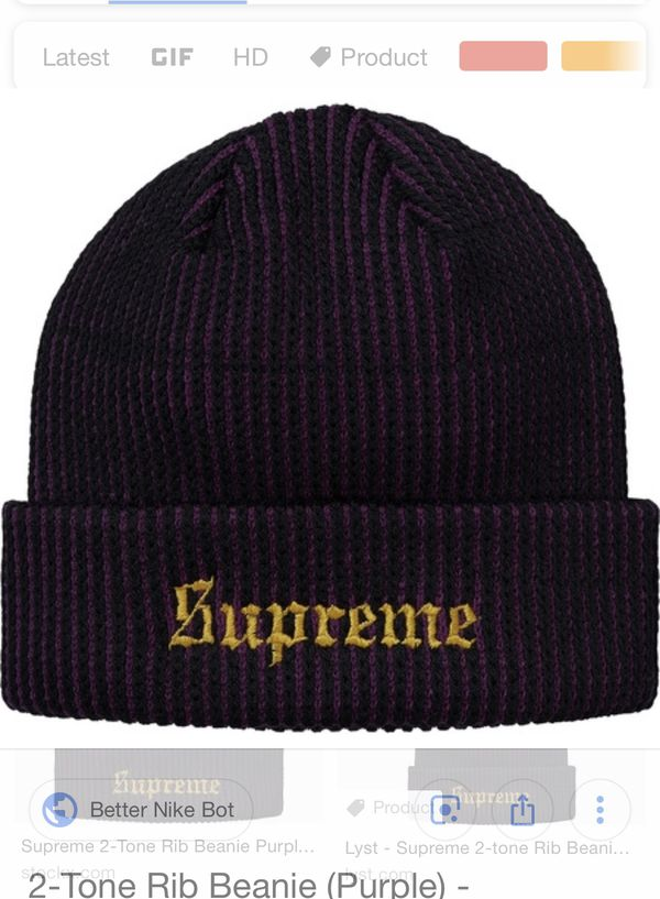 0d36d1aa6 New and Used Supreme beanie for Sale in Redmond, WA - OfferUp