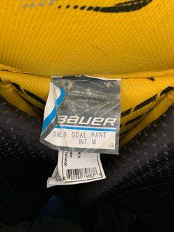 Bauer Supreme Junior Int. M size Goalie Pants Thumbnail