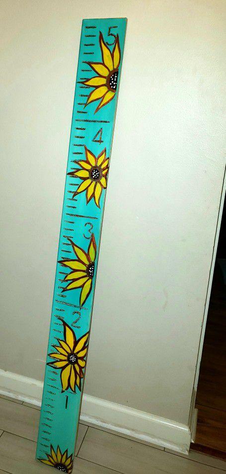 Sunflower Grow Chart