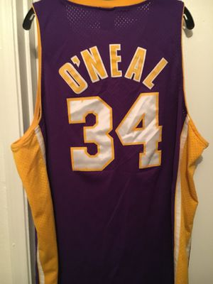 9e758151bed Lakers Shaquille O'Neal jersey size 2XL for Sale in Pasadena, TX
