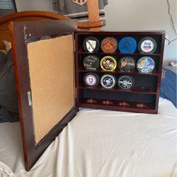 hockey puck display case  Thumbnail