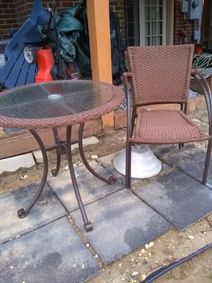 3pc patio set for Sale in Alexandria, VA