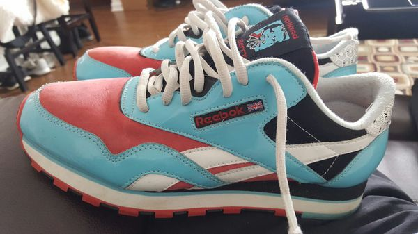 Rare Reebok Classic Rolland Berry RBC Sz 8.5 Multicolor Vintage Blue Red in good  clean condition with very little sign of wear . c8deb0e4a