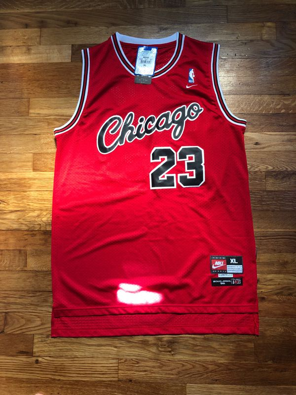 official photos 34599 e5697 NWT Michael Jordan Nike Flight 1984 Vintage Retro Throwback NBA Jersey  Chicago Bulls 90s NEW for Sale in Toms River, NJ - OfferUp