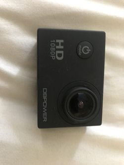 DB 1080p Action Camera with Accessories and Travel Case Thumbnail