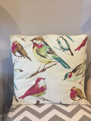 Bird decorative pillow for Sale in Herndon, VA