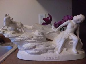 "Ceramic statue title""outfoxed""13$ for Sale in Salt Lake City, UT"