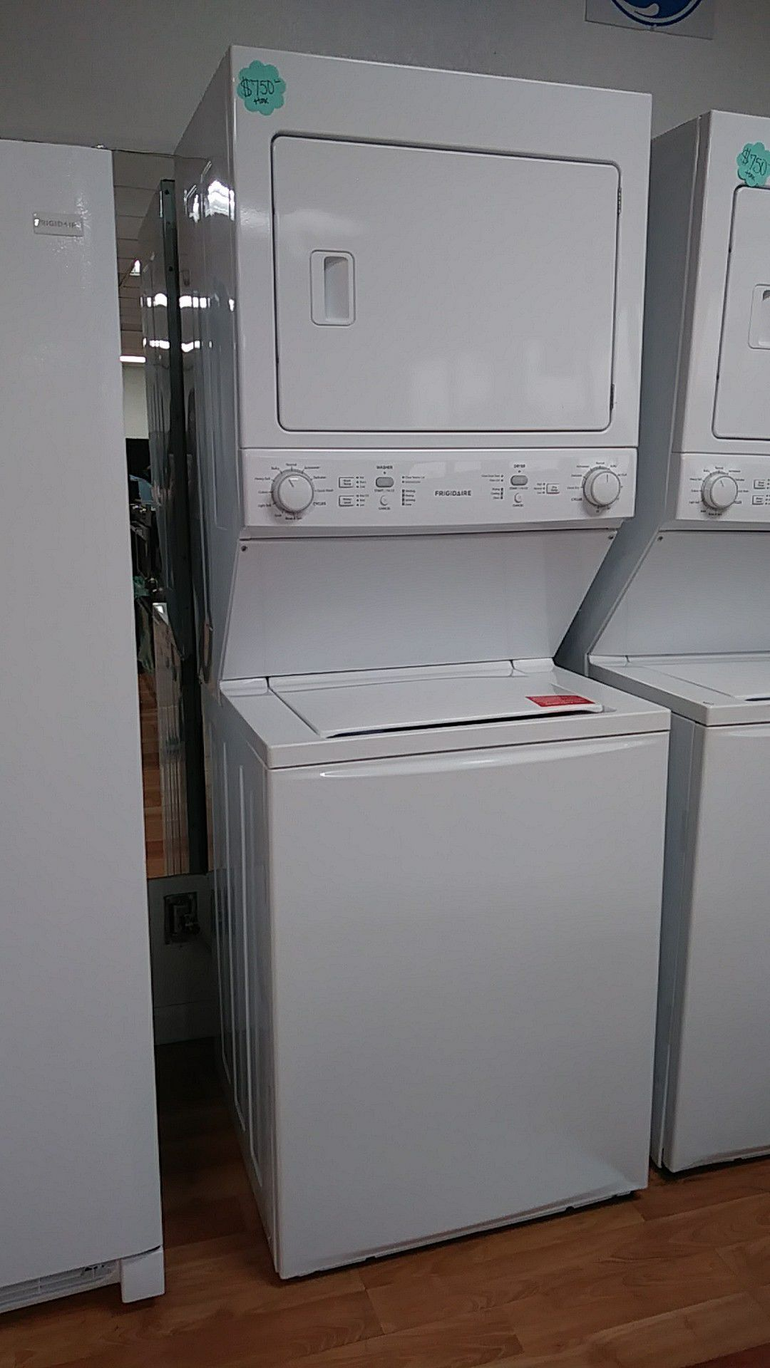 NEW FRIGIDAIRE GAS STACKABLE