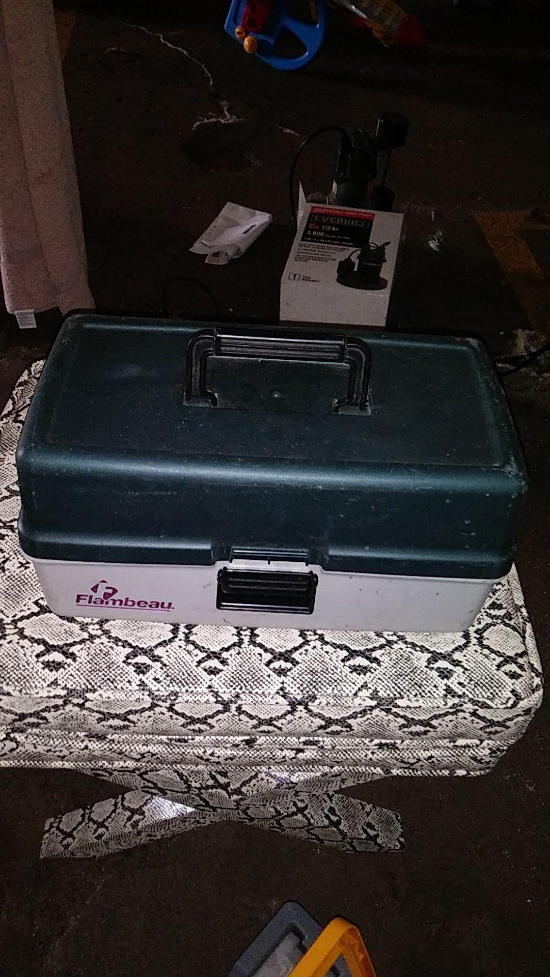Flambeau box
