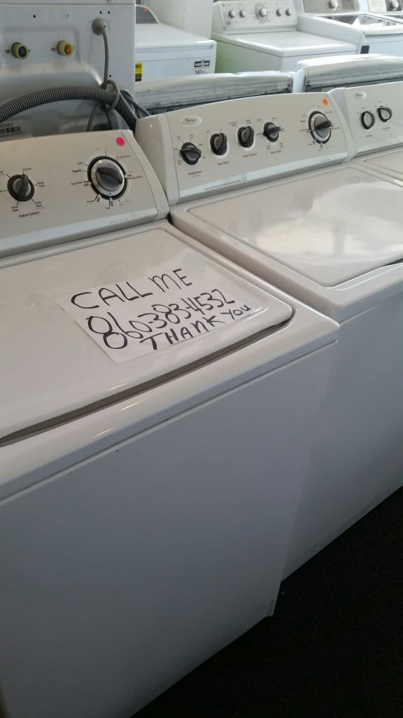WASHER AND DRYER COMBO, WE LOCATED AT 680 BOSWELL AVE NORWICH CT 06360 AND 75 BRIDGE ST WILLIMANTIC CT 06226